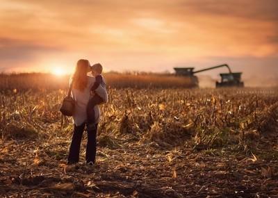 The Farmers Wife, a self portrait