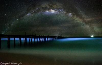 Cambodia, Bio-Luminescent Planktons of Koh Rong Samleom Island