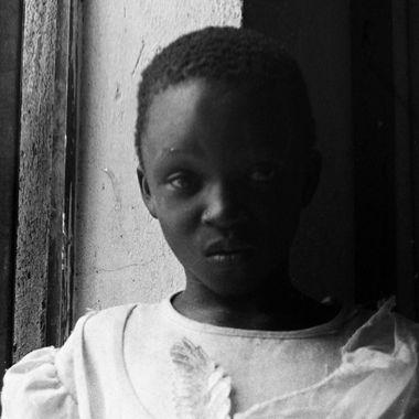 One of the local children at the Agule Community Health Center in Pallisa, Uganda. (Original shot on 35mm Film)