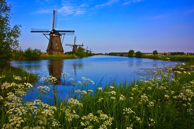 Kinderdijk in Holland by tripvis - Monthly Pro Vol 17 Photo Contest