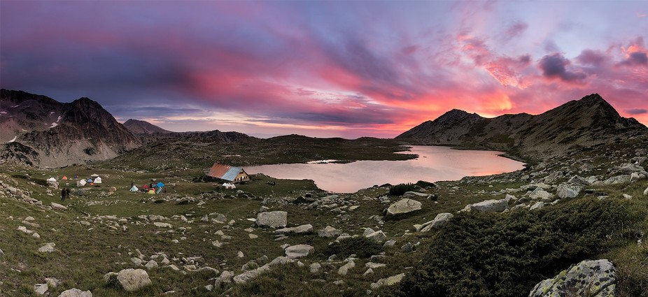 Tevno Lake Shelter was built in 1972 by BTS at 2512 meters above the sea level. The shelter is ...