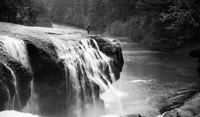 Near the Edge by lizacarlson - Standing At The Edge Photo Contest