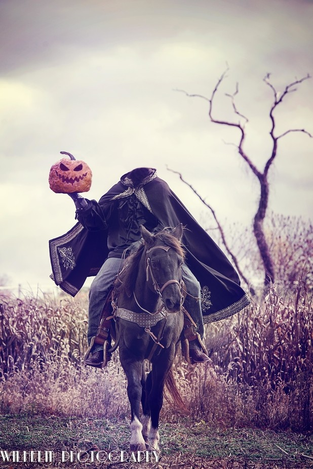 Headless Horseman by tonyawilhelm - Getting Creative Photo Contest