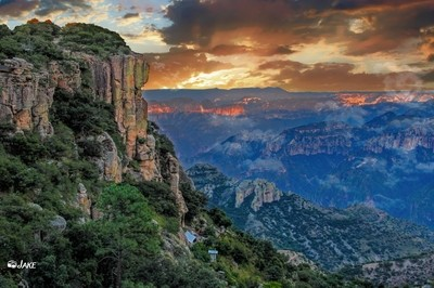 Sunrise over Mexico's Copper Canyon