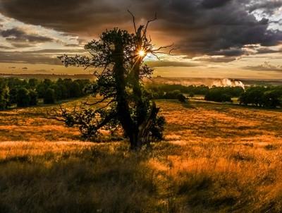 Belton sunset