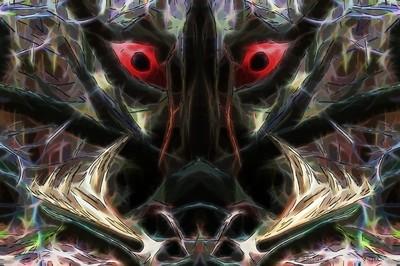 Beware the jabberwock, my son (Deep Dark Woods Edit)