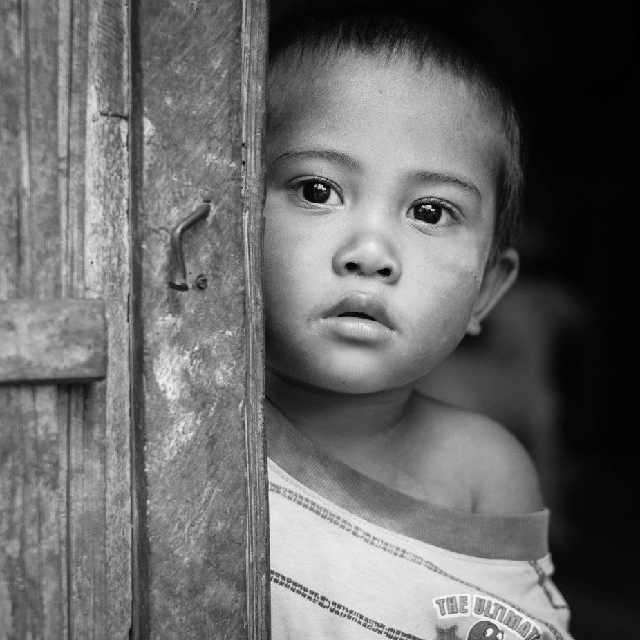 Wondering child 3 1 by my heart speaks black and white faces photo contest