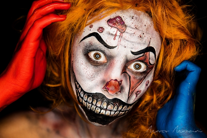 Clowns are not that funny by MarcoMazzini - Halloween Photo Contest 2017