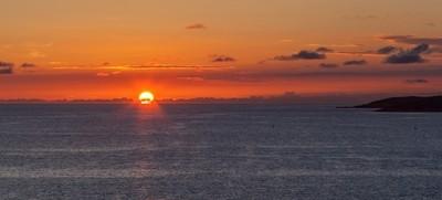 Sunset at Bigova
