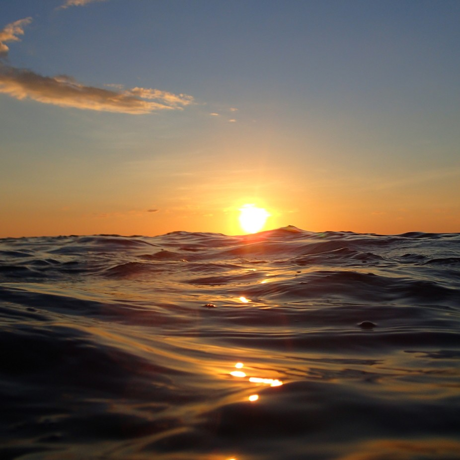 Sunset on the sea by JonahDocter-Loeb - Sunrise Or Sunset Photo Contest