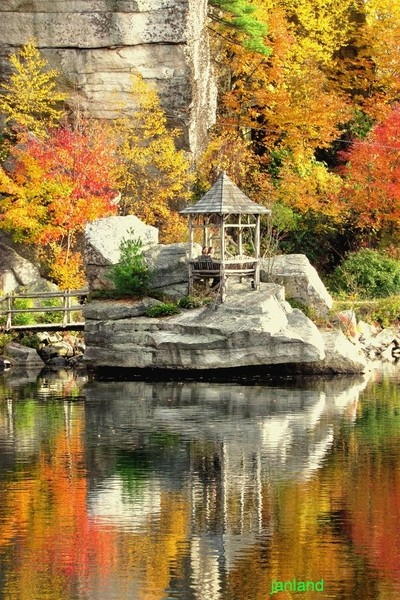 Fall at Mohonk Mountain