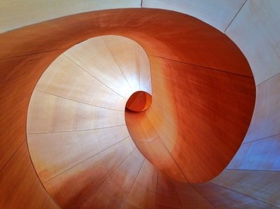 Frank Gehry's Spiral Staircase, AGO, Toronto