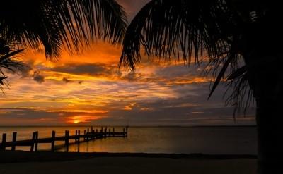 Key Largo Silhouette Sunset