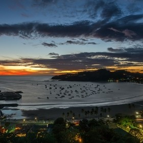 When the sun goes down in San Juan del Sur, the town comes to life.