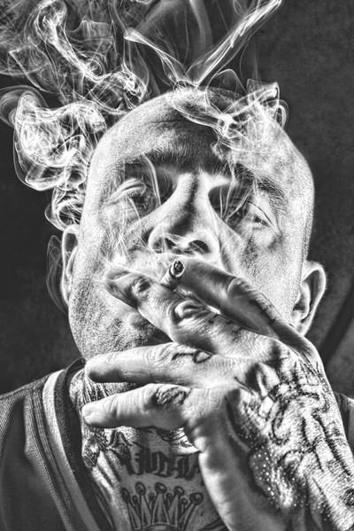 Cigar Self Portrait