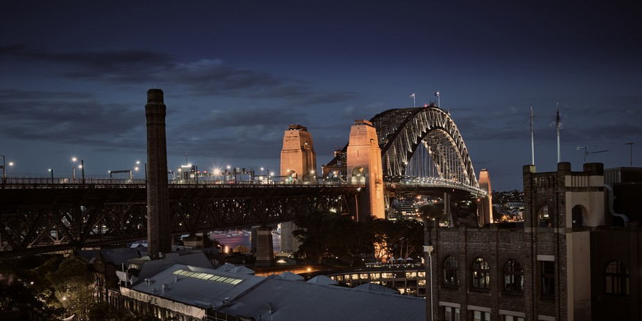 """The Harbour Bridge  is another one of those iconic landmarks, that have been """"shot to de..."""