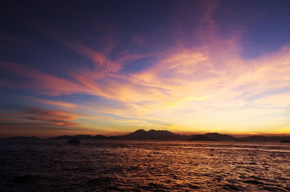 sunset @ sai wan