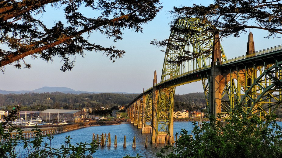 """Yaquina River Bridge at Newport"""