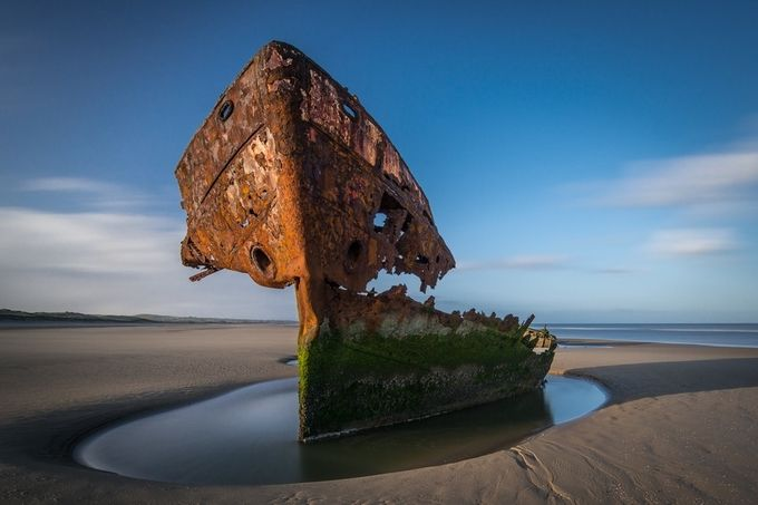 Ship wrecked by gregsinclair - Monthly Pro Vol 16 Photo Contest