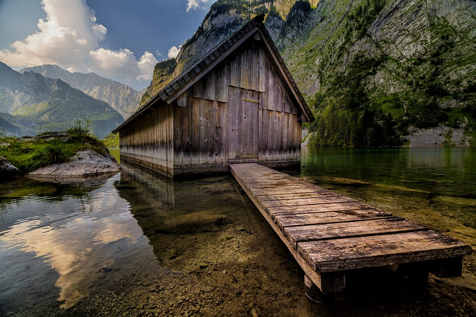 Obersee near Ramsau, Germany