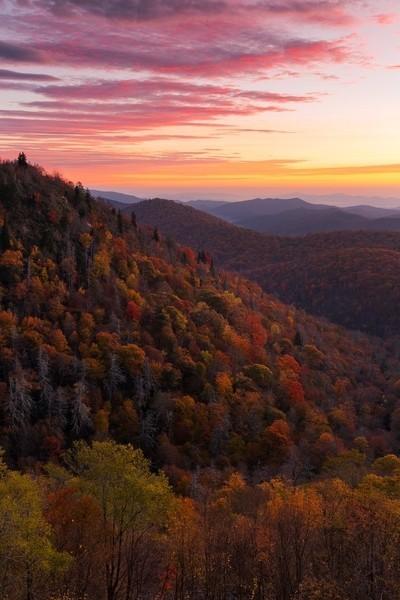 East Fork Overlook Sunrise