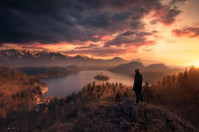 Above-the-world by arpandas - One With Nature Photo Contest