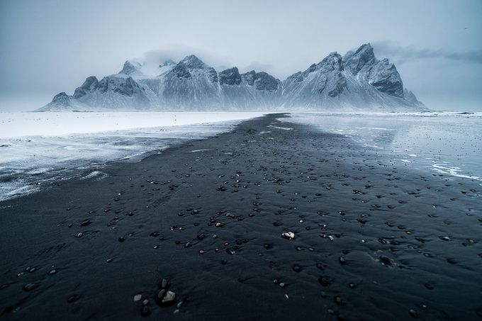 Dark Vestrahorn by wildlifemoments - Mist And Drizzle Photo Contest