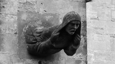 DSCF3325 Grotesque at Llandaff Cathedral