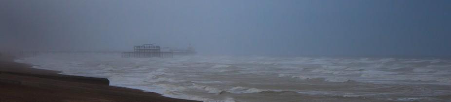 Brighton Pier storms of 2015