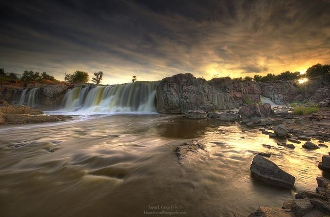 The Falls by aaronjgroen - Using Filters Photo Contest