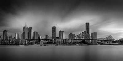 long exposure city