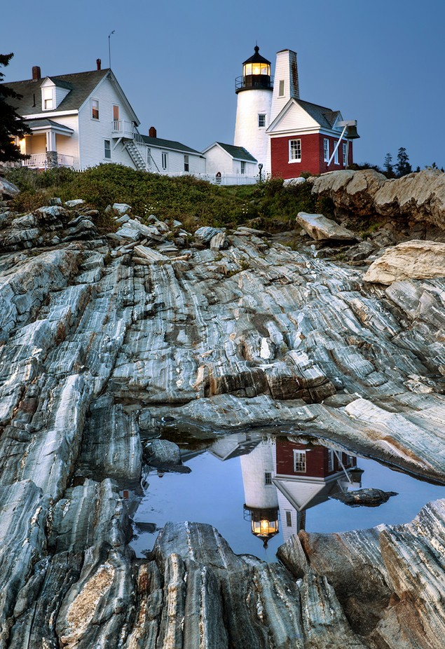 Pemaquid Point Light by AnnSagel - Your Point Of View Photo Contest