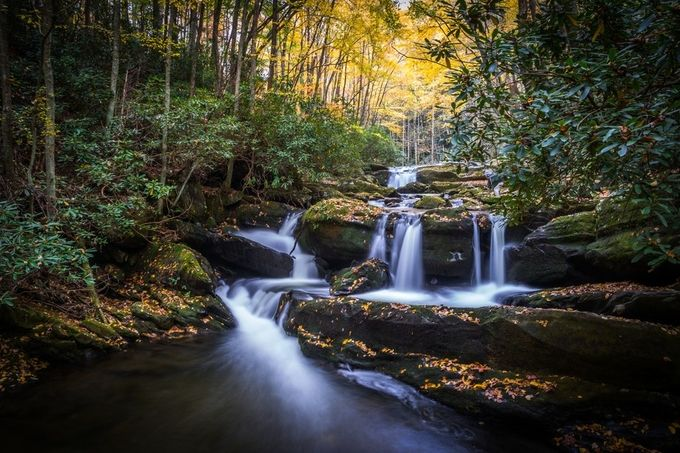 The Falls by Steve_Renter - Streams In Nature Photo Contest