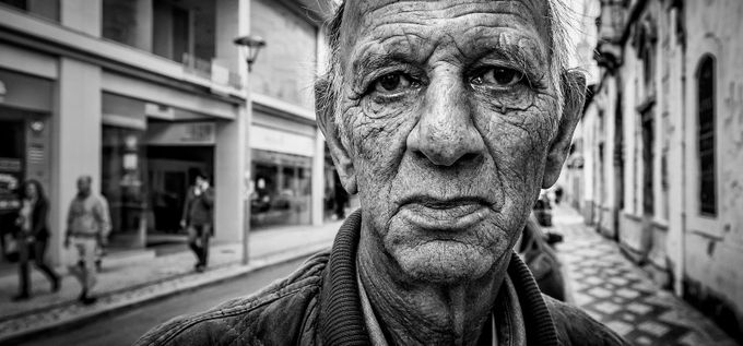The absence of hope by vascotrancoso - Street Portraits Photo Contest