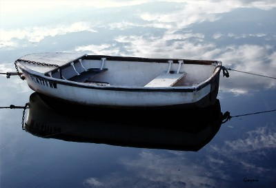 Painted boat