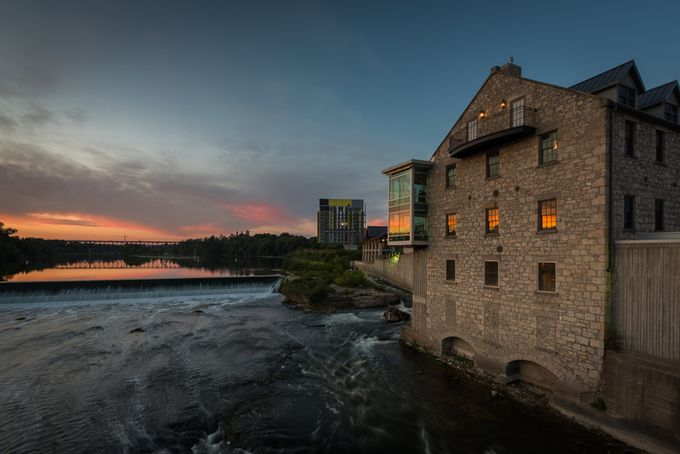 Dickson's Mill by Davehook - Sunset In The City Photo Contest