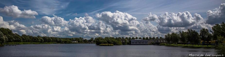 Clouds above Ypenburg