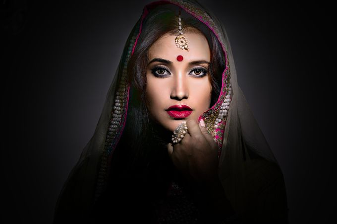 Dark Beauty  by Chaitalichk - Dramatic Portraits Photo Contest