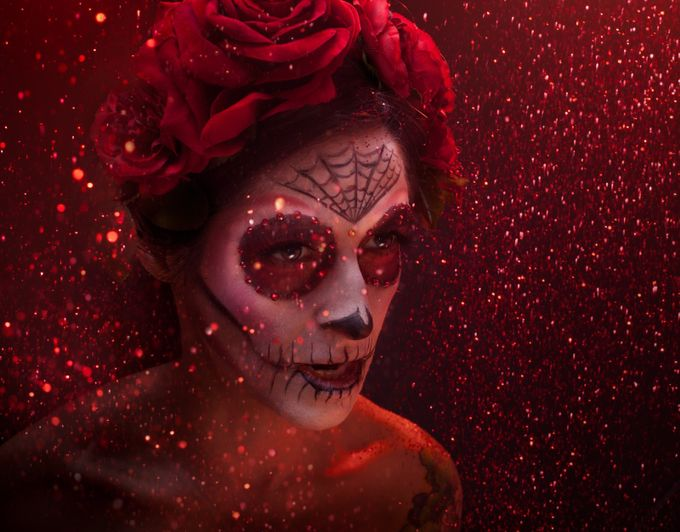 Sweet Calaveras by jeromebertrand - Halloween Photo Contest 2017