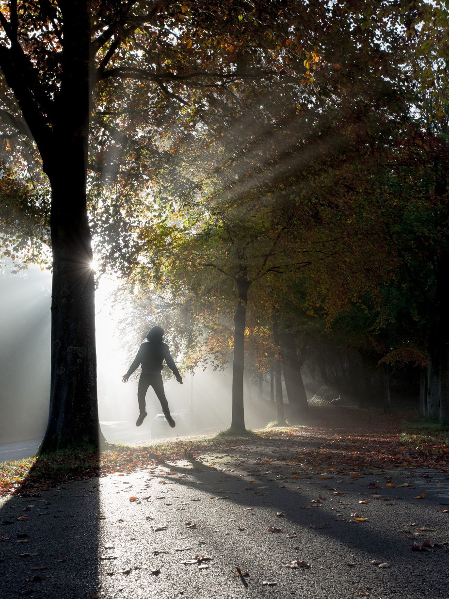 Rise in the Fall by joshuaperrett - The Art Of Levitation Photo Contest