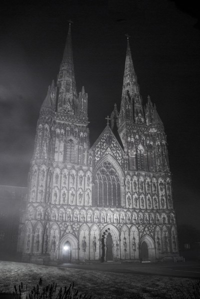 Cathedral in the mist