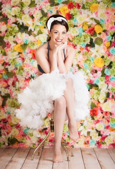 Floral Pin Up