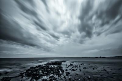 cloudy B&W