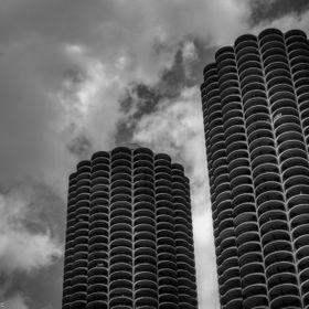 Among my favorite architectural flavors of Chicago.  June, 2014.