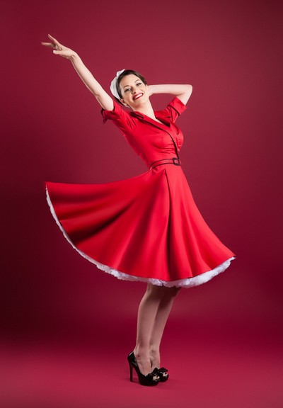 Red Pin Up