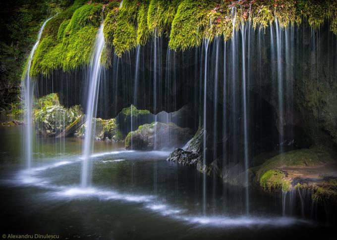 Bridal veil by alexandrudinulescu - Beautiful Waterfalls Photo Contest