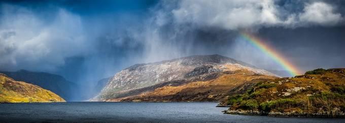 Kylesku Rainbow by Badgrandad - Rainbows Overhead Photo Contest