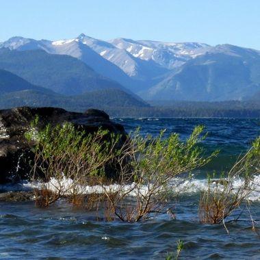 Bariloche, Argentina lake