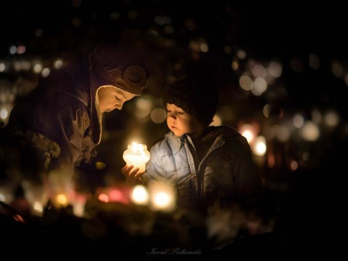 All Souls' Day by Iwona - Night And Bokeh Photo Contest