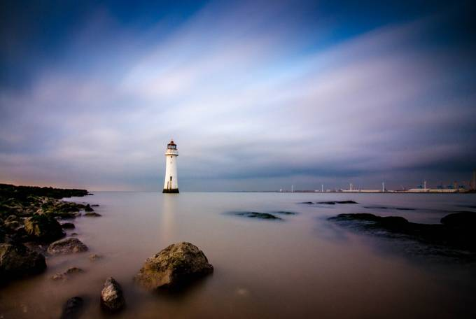 Perch Rock by garrykennedy - The Moving Clouds Photo Contest